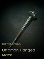 Ottoman Flanged Mace Codex Entry