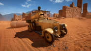 BF1 RNAS Armored Car Desert Front