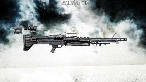 Battlefield Bad Company 2 - M60 LMG Sound