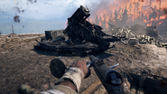 BF1 BL 9.2 Siege Gun Destroyed