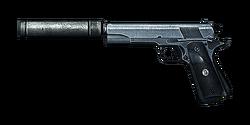 BF3 M1911 SILENCED ICON