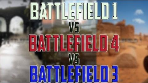 Battlefield 1 vs Battlefiled 4 vs Battlefield 3 - Graphics gaming comparison 1440р, Windows 10
