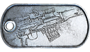 SVD Master Dog Tag