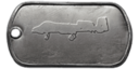 BF4 A-10 Warthog Master Dog Tag