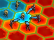 War Room Tile To Attack Selection
