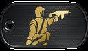 BF3 Battlescars Dog Tag