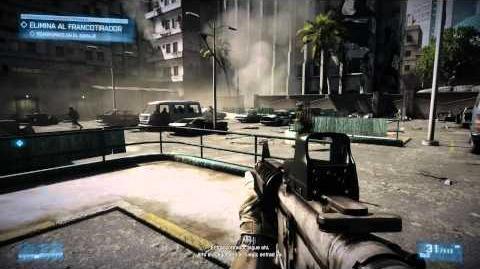 Battlefield 3 - Misión 2 Operación Swordbreaker - Español - Walkthrough HD