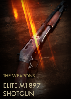Elite M1897 Shotgun Codex Entry