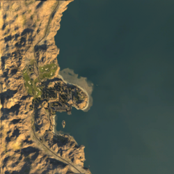 BF2 Sharqi Peninsula ingameMap