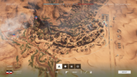 BF5 Al Marj Encampment Conquest 4 Flag Layout