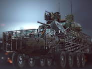 LAV-25 with Reactive Armor Menu BF4