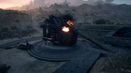 BF1 305-52 O Coastal Gun Destroyed Front