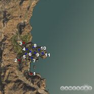 BF2 Sharqi Peninsula 64 Players Map Alpha Screenshot