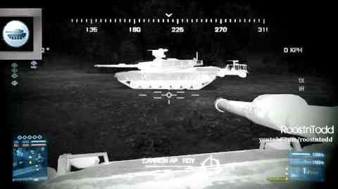 Battlefield 3 Tank Guide - Thermal Optics