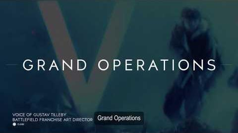 Grand Operations Tutorial - Battlefield V