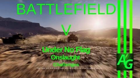 Battlefield V Under No Flag - Onslaught - Challenges