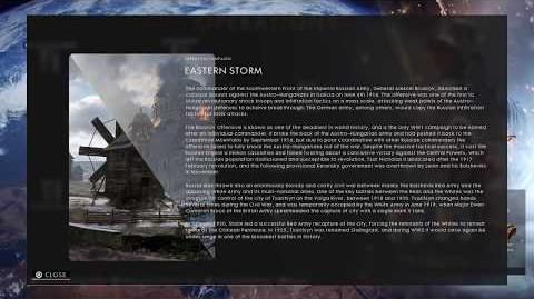 Eastern Storm Codex Entry - Battlefield 1 In the Name of the Tsar
