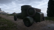 BF1 F.T Armored Car Back
