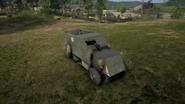 BF1 Artillery Truck Mortar Front