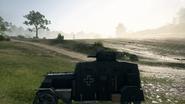 BF1 EV4 Armored Car Left