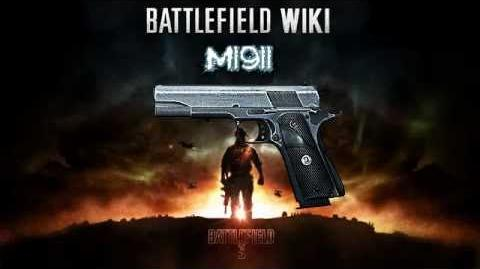 Battlefield 3 - M1911 Sound