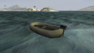 Type 38 Raft.Rear view.BF1942
