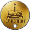 Battlefield 1 Year 1 Anniversary Dog Tag