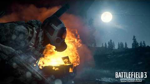 Battlefield 3 Death Valley Loading Screen