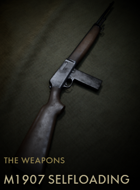 M1907 SL Codex Entry