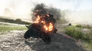 BF1 EV4 Armored Car Destroyed