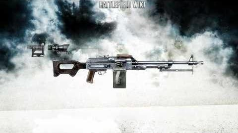 Battlefield Bad Company 2 - PKM Sound