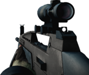 XM8 LMG 4X Rifle Scope