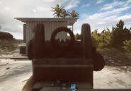 AK5C Iron Sights BF4