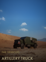 Artillery Truck Codex Entry BF1