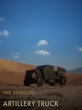 Artillery Truck Codex Entry BF1