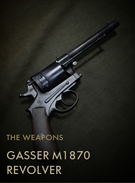 Gasser M1870 Revolver Codex Entry