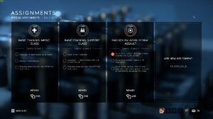 BF5 Assignments