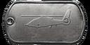 BF4 Ka-60 Kasatka Master Dog Tag