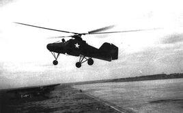 Flettner 282 airborne