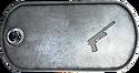 BF3 M1911 S-TAC Proficiency Dog Tag