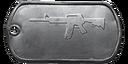 BF4 M4 Master Dog Tag