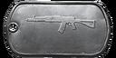 BF4 AEK-971 Master Dog Tag