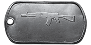 BF4 AEK-971 Master Dog Tag
