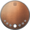 Battlefield 1 Support Specialist III Dog Tag