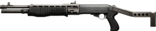 Battlefield 3 SPAS-12 HQ Render