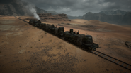 BF1 Armored Train Back