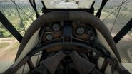 BF1 Bristol F2.B Controls