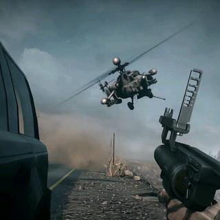 Zestrzelenie helikoptera
