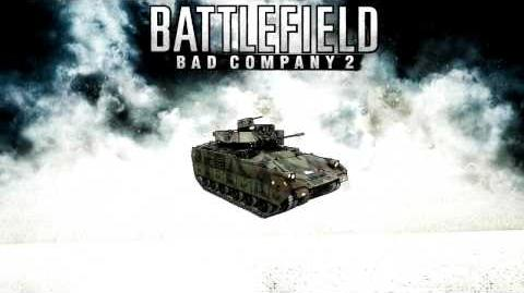Battlefield Bad Company 2 - M3A3 Bradley M2 Browning sound