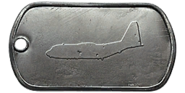AC-130U Master Dog Tag BF4